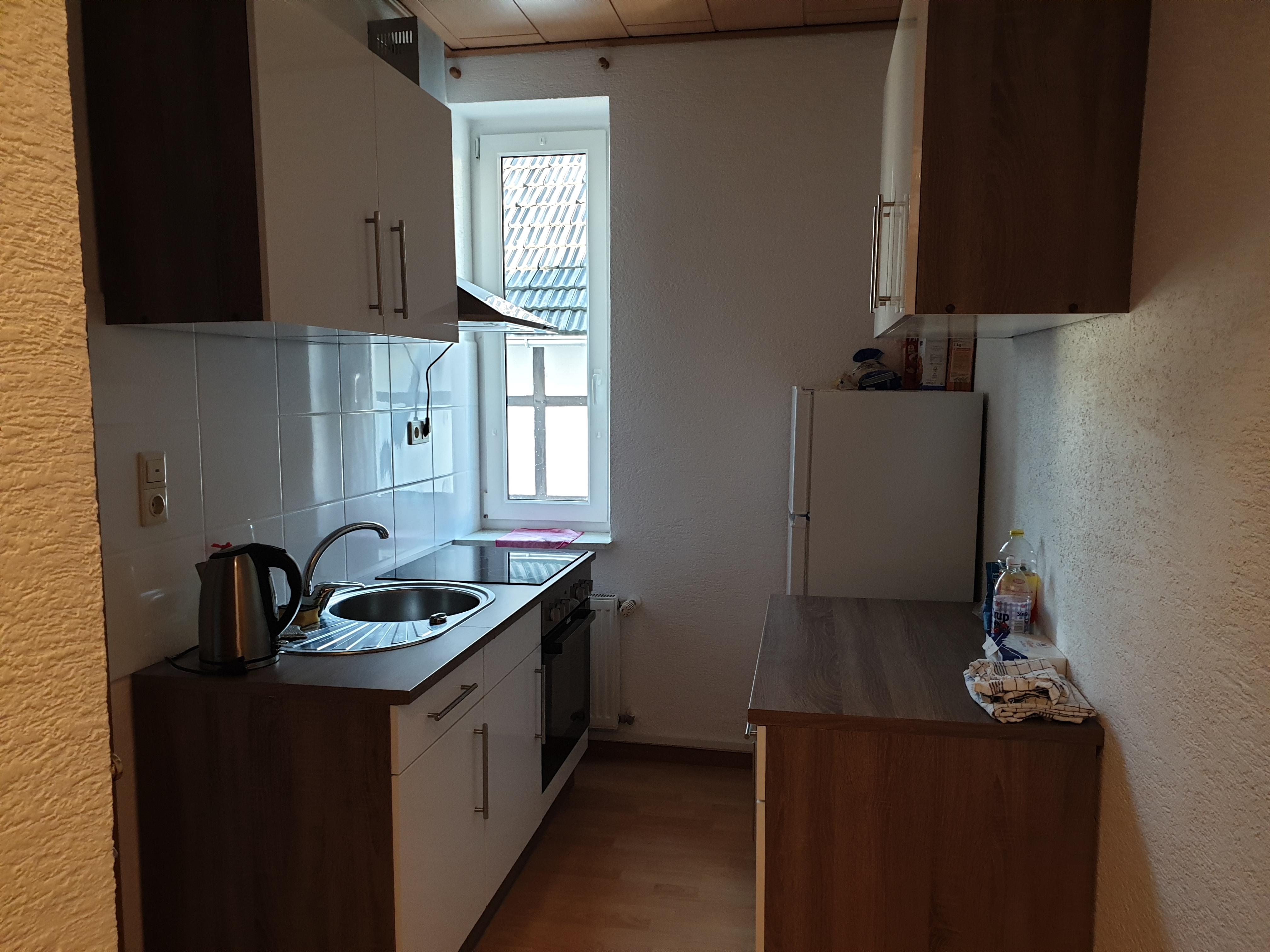 Monteurszimmer-Fewo-Schreppenberg-Küchenzeile