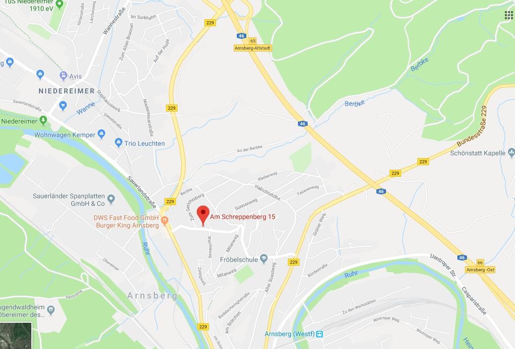 Monteurszimmer-Fewo-Schreppenberg-Lage